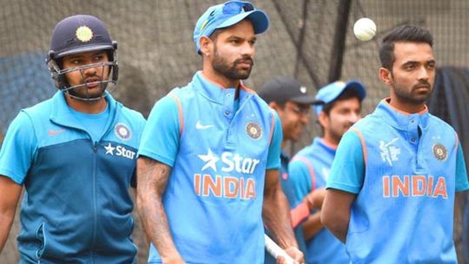 Indian cricket team stars wish fans on festive occasion of Mahanavami.