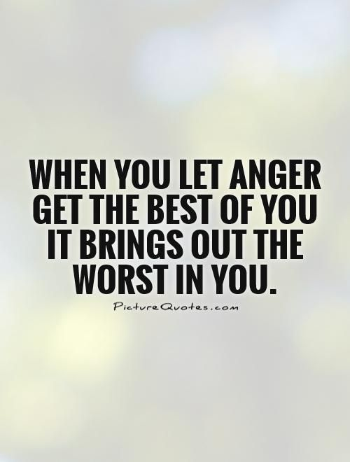 Anger Is a Small Thing, Don't Let Your Ego Help It Grow