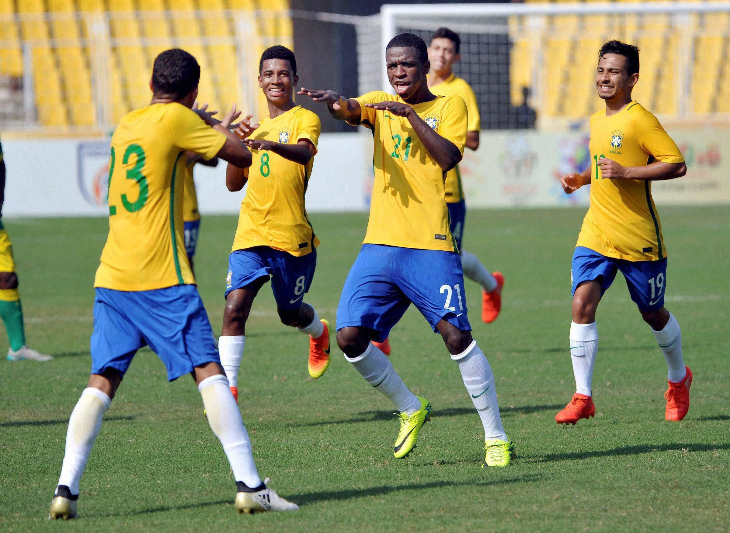 The Brazilian U-17 Team Are Winning Hearts With This Beautiful Gesture For Local Kerala Kids