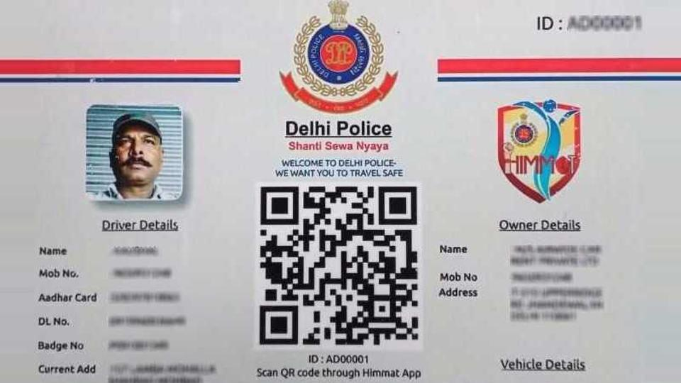 Delhi Police can now track your cab ride via QR code, make calls to check on you