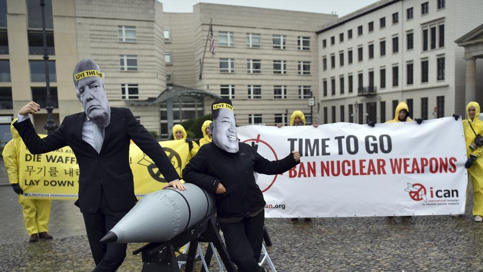 ICAN: Campaigners for end to nuclear weapons in era of Trump, Kim Jong Un