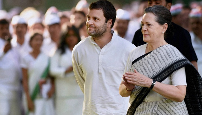 Rahul to take charge as Congress president soon: Sonia Gandhi.