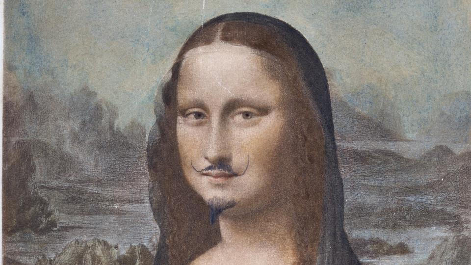 Conceptual artist Duchamp's moustachioed Mona Lisa sells for $750,000 at Sotheby's