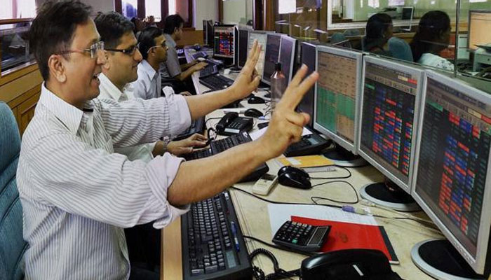 Sensex breaches 33,000-mark for the first time; Nifty hits all-time high of 10,340.
