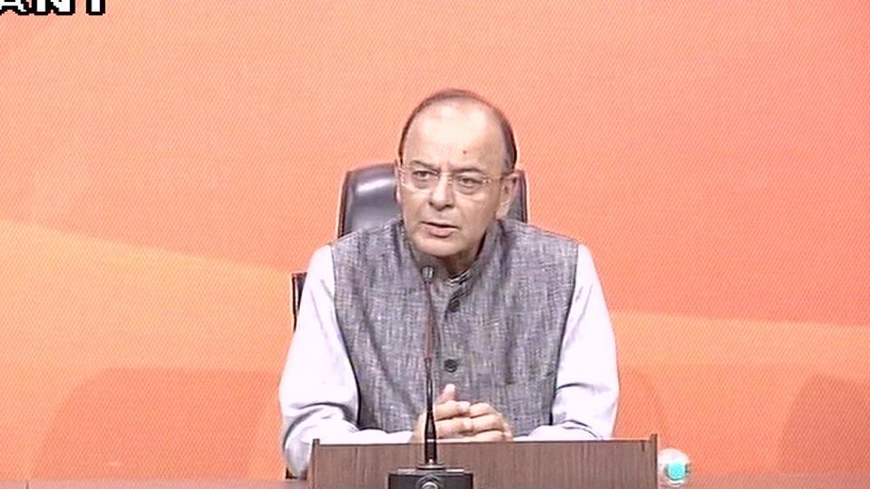 Live: BJP will celebrate 'Anti-Black Money Day' on November 8, says Arun Jaitley.