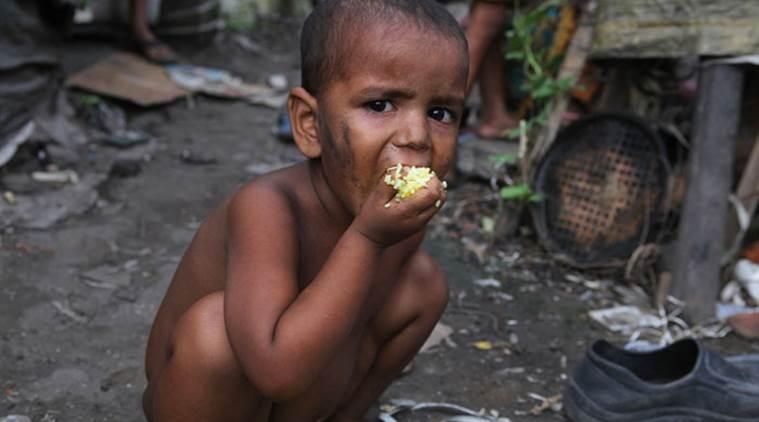 Hunger is a shame