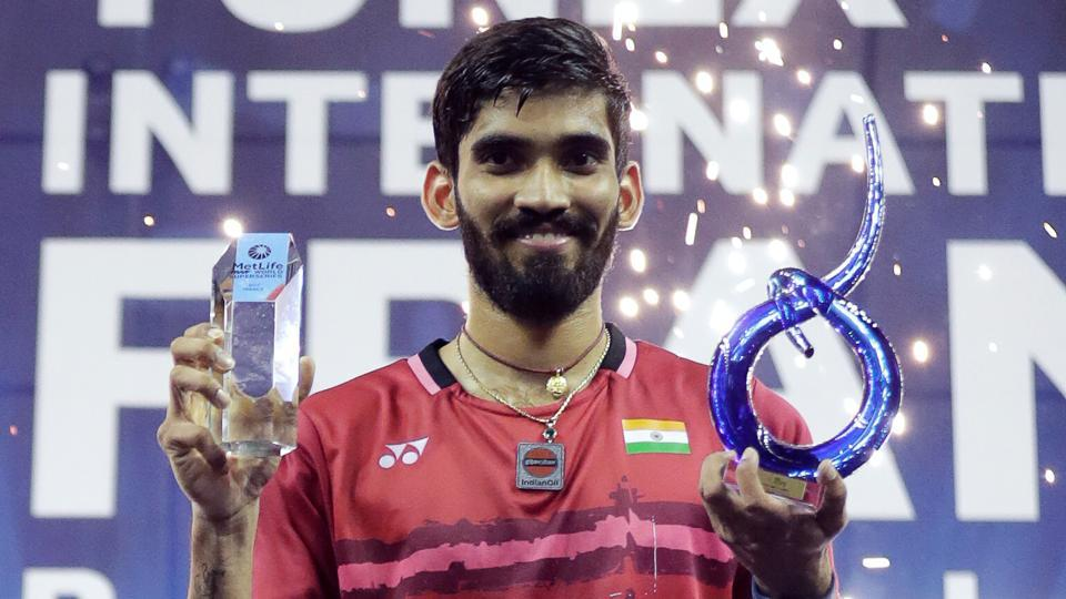 Narendra Modi leads felicitations for Kidambi Srikanth after French Open triumph.