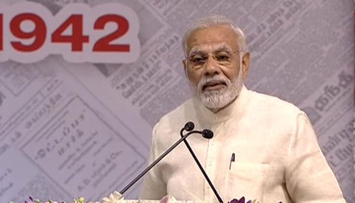 Cover more than just politics, take lead on climate change: PM Narendra Modi
