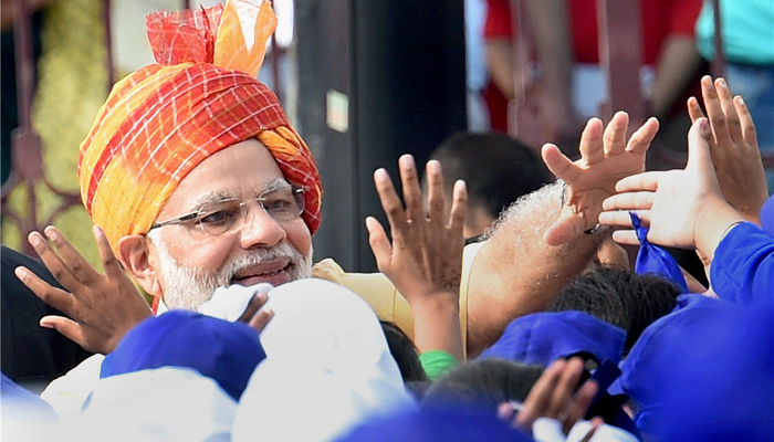 BJP backs PM Modi, terms AICC as