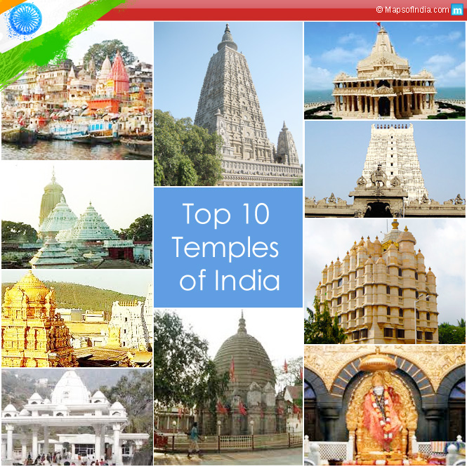 Top 10 Temples of India.