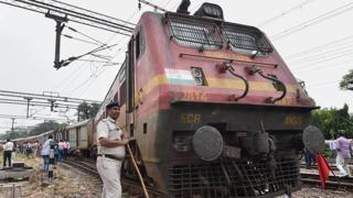 Runaway train: Engine cruises 13km minus pilot, staffer chases it down on bike