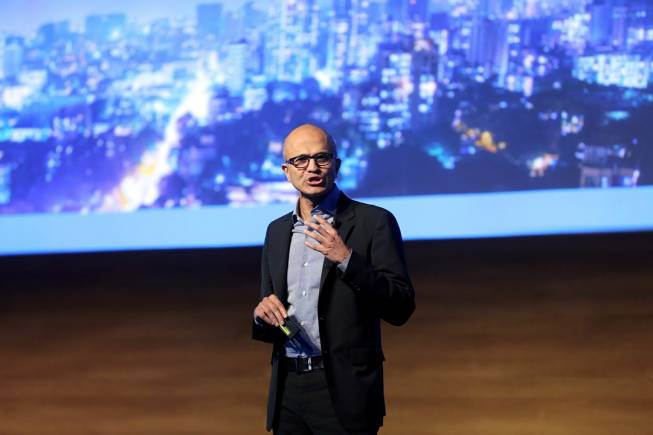 'Get a real computer': Microsoft CEO Satya Nadella tells Apple iPad-using journos