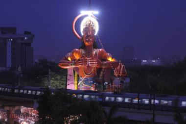Consider Airlifting 108-Foot Hanuman Statue to Remove Congestion, Says Delhi High Court