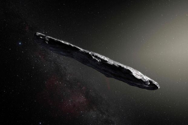 Cigar-shaped asteroid Oumuamua came from another solar system: study