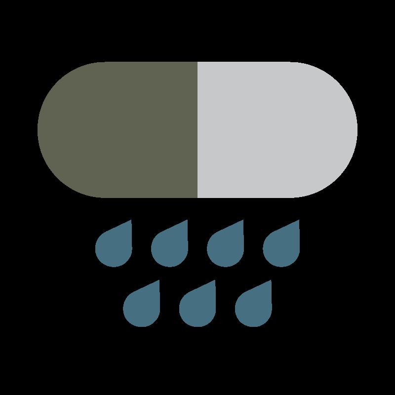 Rain can contain Vitamin B12