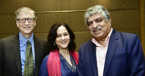 Nandan Nilekani, wife Rohini to donate half of their wealth under Giving Pledge: Here
