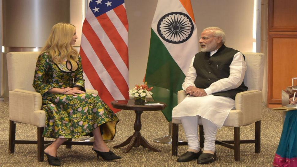 Ivanka Trump hails Narendra Modi