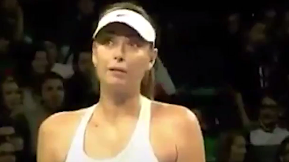 Maria Sharapova gets mid-match marriage proposal