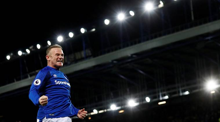 Wayne Rooney scores unbelievable goal from his own half to complete hat-trick, watch video