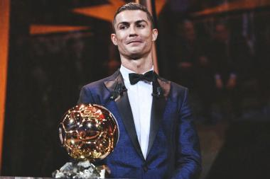 Cristiano Ronaldo Wins Fifth Ballon d