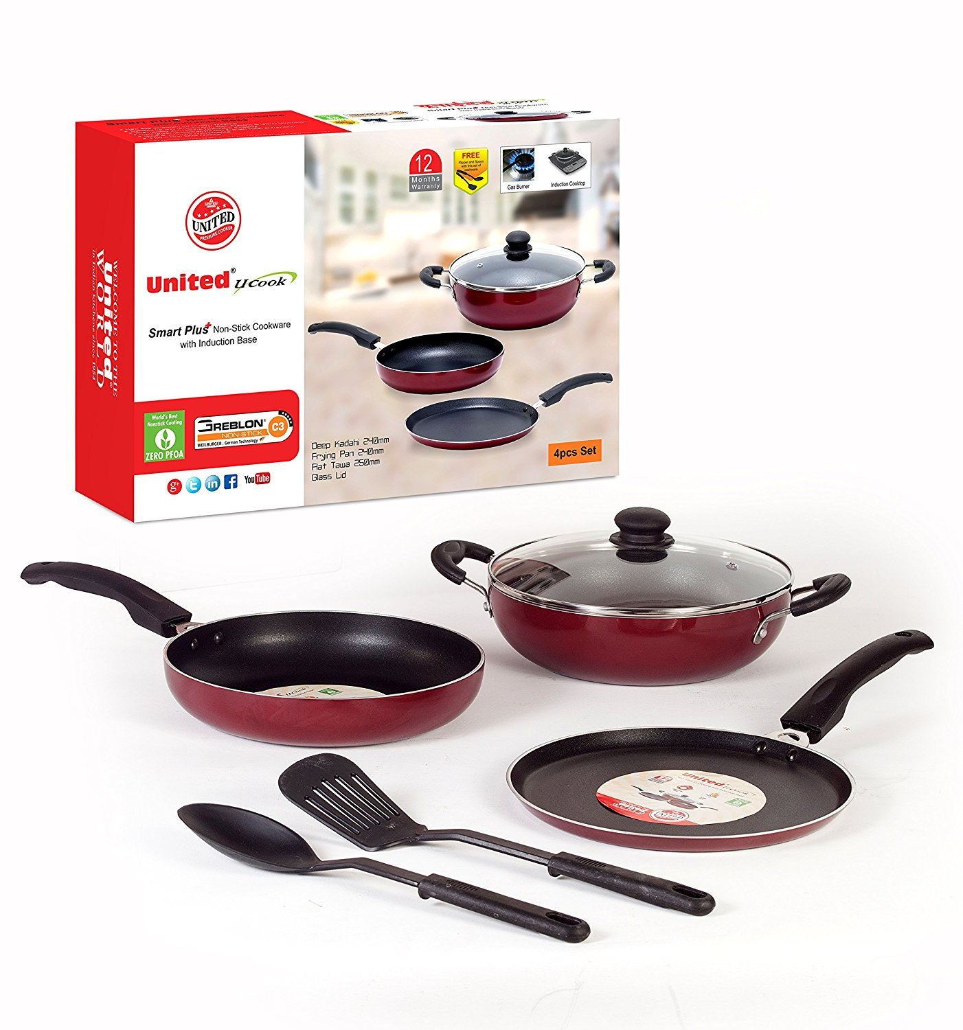 Top  5  Best Rated Non-Stick Pans (Tawa's).