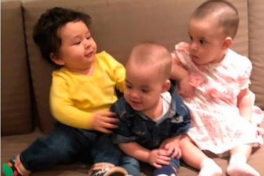 Taimur Ali Khan, Roohi and Yash Johar Are Finally In One Frame!