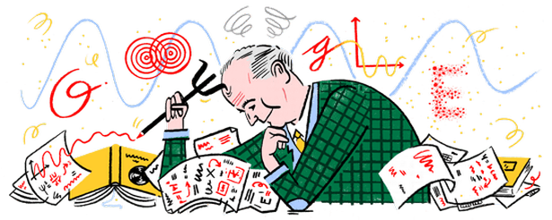 Max Born, the man featured in today's Google Doodle