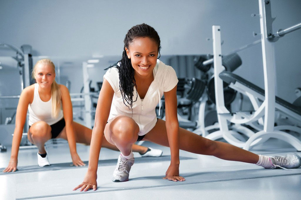 Some Strength Training Exercises for Women at Home.
