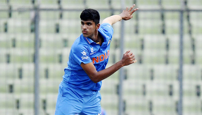 Washington Sundar 7th youngest cricketer to make India debut