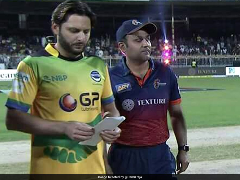 Watch: Virender Sehwag Becomes Shahid Afridi