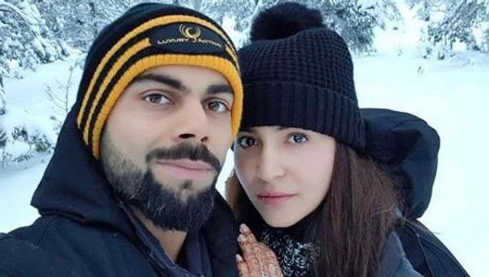 Anushka Sharma and Virat Kohli are in Delhi for their reception. See photos