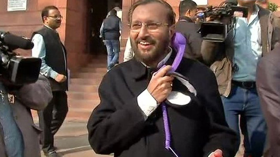 Want to save yourself from mobile radiation? Learn it from Prakash Javadekar
