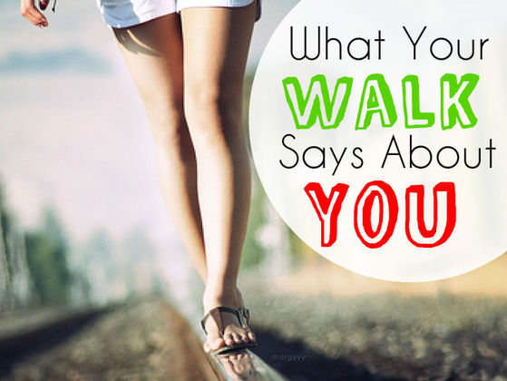 The way you walk reveals THIS about your personality