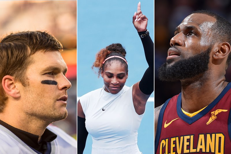 LeBron James, Serena Williams and Tom Brady Are Still Dominating Their Sports. Here's What You Can Learn From Them