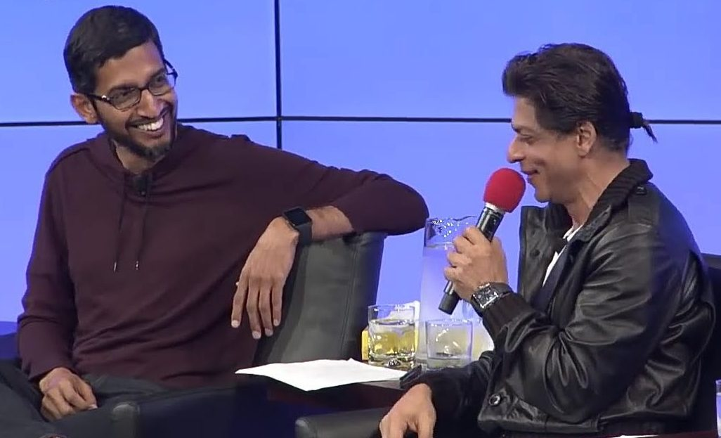 People started recognising me after my interview with Shah Rukh Khan: Sundar Pichai
