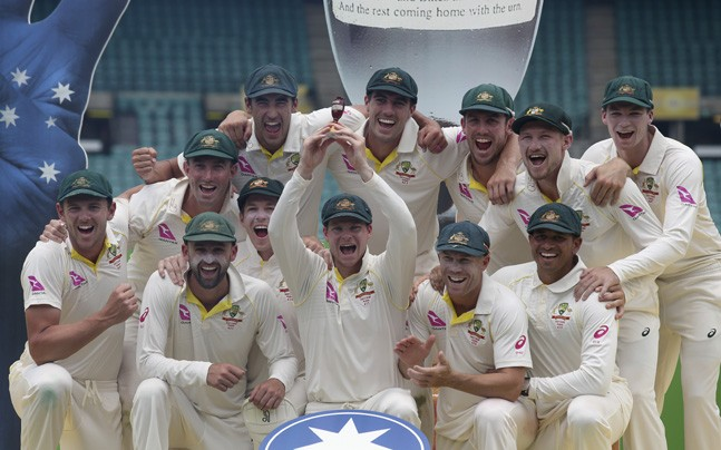 Ashes 2017: Australia crush England by innings and 123 runs at Sydney to clinch series 4-0