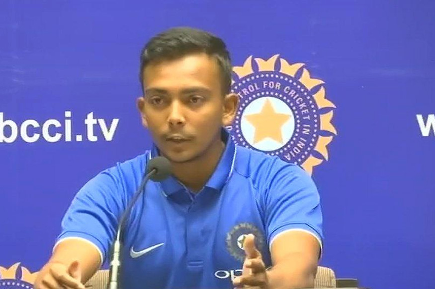 U-19 World Cup: Captain Prithvi Shaw Confident of Good Showing from Team India
