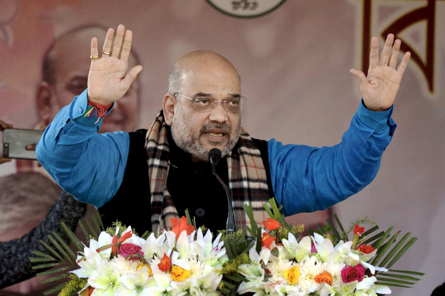 Many Communist Ministers of Tripura Corrupt, Will be Sent to Jail: Amit Shah