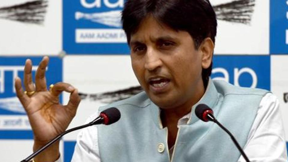Kumar Vishwas may be replaced as AAP Rajasthan in-charge