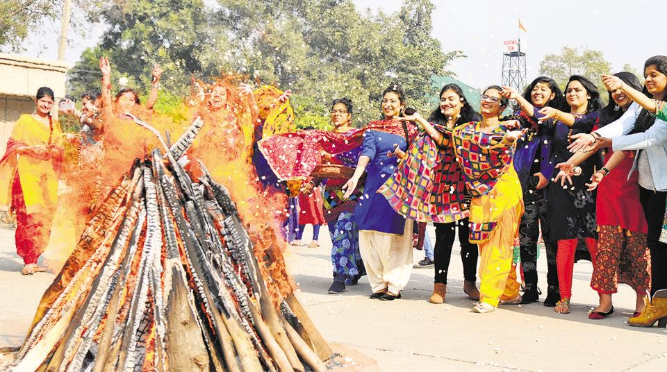 The fading fire of Lohri traditions