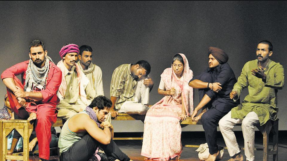 It appears we have taken no lessons from history, says playwright-director Arvind Gaur