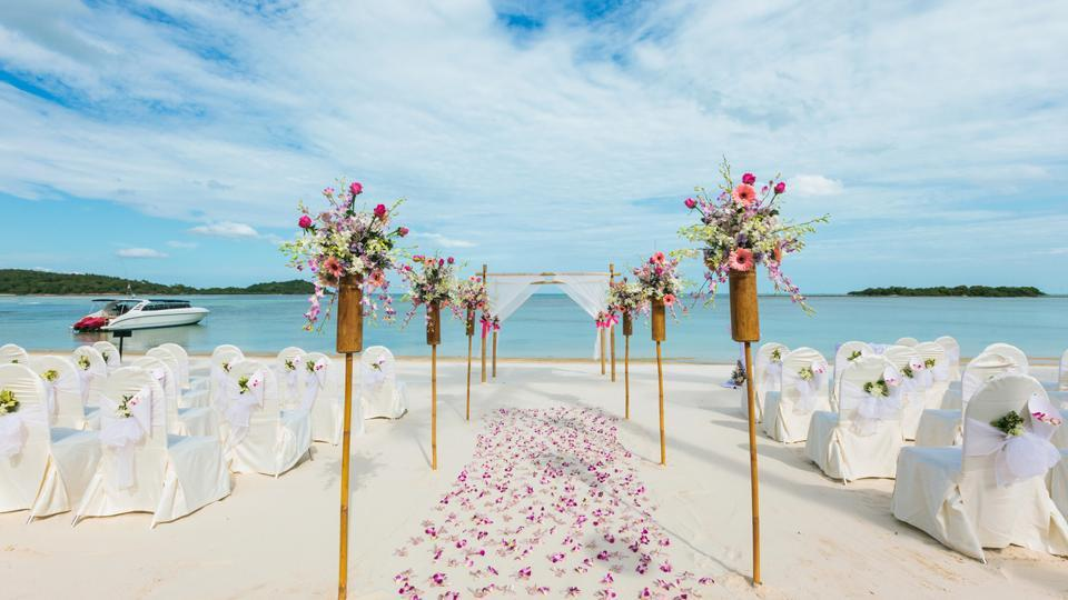Six things to keep in mind when planning a destination wedding