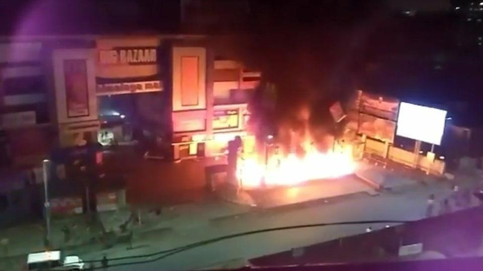 Padmaavat release: Ahmedabad malls vandalised, vehicles set on fire; Section 144 in Gurgaon