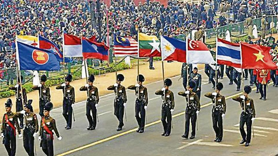 India to show off big Act East policy as ASEANleaders begin visit