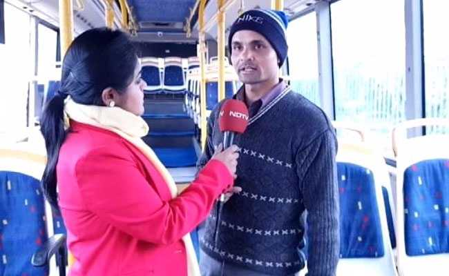 """Driver Kept Moving Or Worse Could Have Happened"": Gurgaon Bus Conductor"