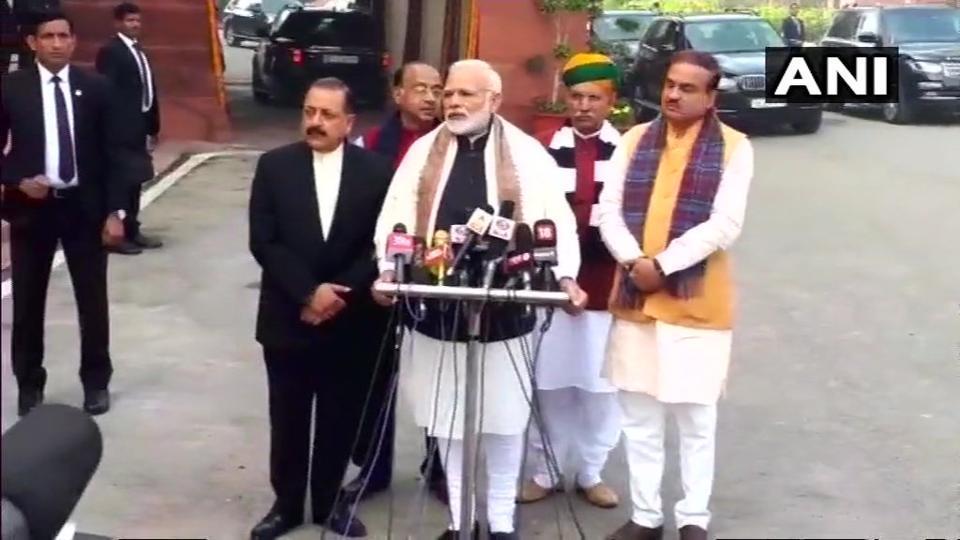 Ahead of budget session, PM Modi asks political parties to help pass triple talaq bill