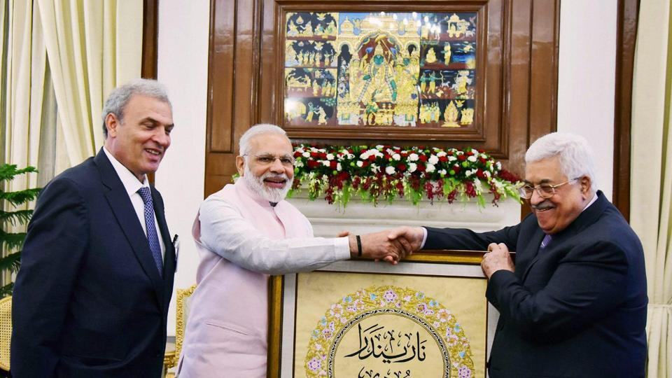Modi to open India-assisted centre to train diplomats during Palestine visit
