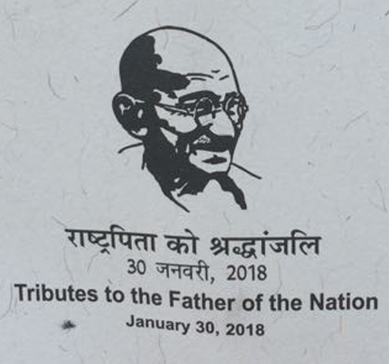 Nation Pays Tribute to Mahatma Gandhi on 70th Death Anniversary at Delhi