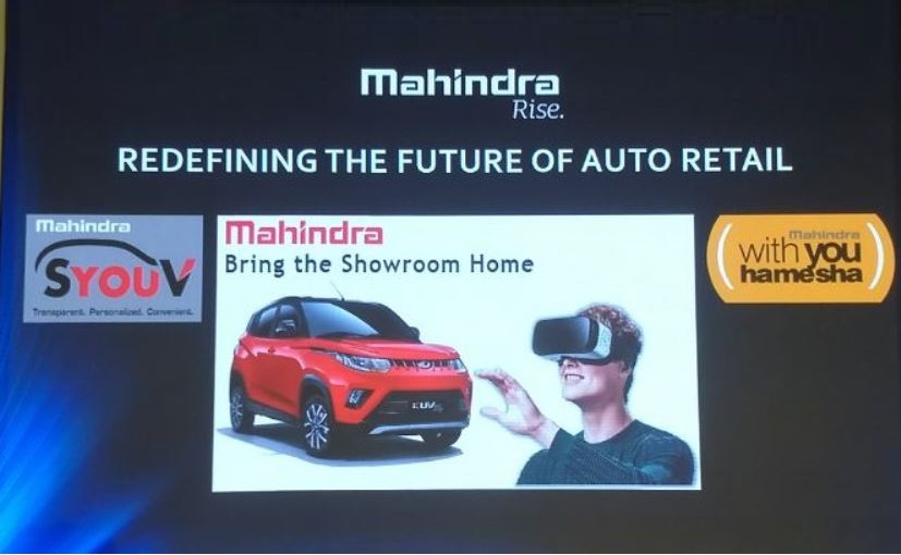 Mahindra Brings The Showroom To Your Home With New Digital Retail Platform