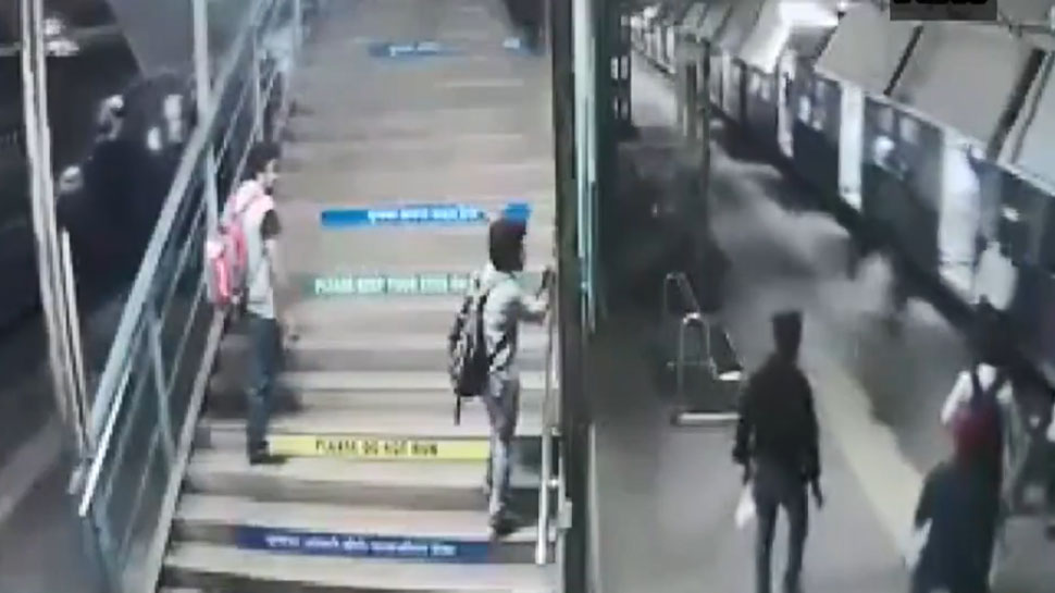 WATCH: Brave RPF constable saves boy from getting crushed under train in Mumbai